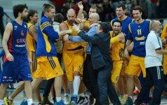 Tragiškai rungtynių pabaigą sužaidusi CSKA ekipa neįtikėtinai pralaimėjo R. Kurtinaičio auklėtiniams