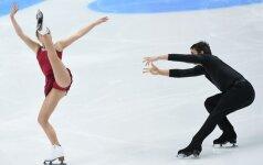 Pasirodymą pasaulio dailiojo čiuožimo čempionate Lietuvos pora baigė greitai – liko 22-a