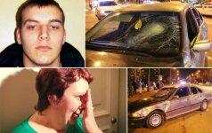 """Vilniuje su BMW """"saulutes"""" demonstravęs girtas vairuotojas nuteistas dėl tyčinio nužudymo"""