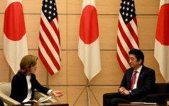 Caroline Kennedy pasitraukė iš JAV ambasadorės Japonijoje posto