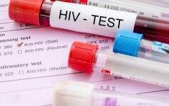 Daugėja susirgimų ŽIV