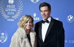Toto Wolffas su žmona Susie