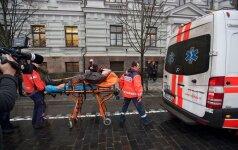 Pranešusio apie sukniubusį žmogų laukia bauda: medikai kreipėsi į policiją