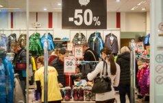 Beveik 60 proc. lietuvių papildomas lėšas išleidžia drabužiams
