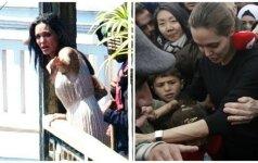 Gražiausia pasaulio moteris atsidūrė ant bedugnės krašto: A. Jolie ištiko PSICHINIS PRIEPUOLIS