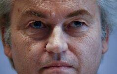 G. Wildersas baimindamasis dėl savo saugumo atšaukė visus rinkimų kampanijos renginius