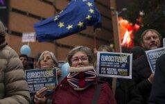 """ES nesutiks su """"Brexit"""" susitarimu, varžančiu europiečių teisę gyventi D. Britanijoje"""