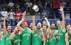 Australijos rinktinė tapo Azijos čempione, R. Butauto vedamas Libanas – šeštas