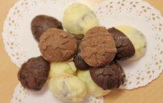 Nustebinkite artimuosius: šokoladiniai kiaušiniai-saldainiai Velykoms
