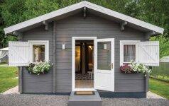 Norvegiška svajonė: 41 kv.m sodo namas Vilniuje