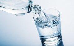 Ne visiems per parą reikia 2 litrų vandens