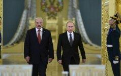 V. Putinas ir A. Lukašenka
