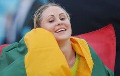 L. Asadauskaitė: norėčiau, kad dukra būtų sportininkė