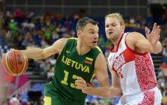 Š.Jasikevičius: mūsų komanda sužaidė labai mažai gerų rungtynių