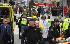 Stokholmo išpuolio aukų skaičius padidėjo iki penkių