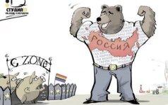Rusijos ambasada socialiniame tinkle įžeidė europiečius