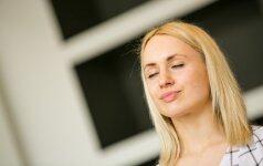 Stresą nugalėti padės 1 minutės meditacija