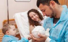 Psichologė: gimus vaikui, vyro ir moters laukia šie santykių išbandymai