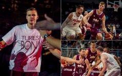 Atgijęs Latvijos krepšinis: auksinė karta – pakeliui į šlovės olimpą