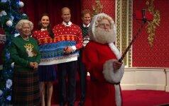 Karališkosios šeimos nariai buvo aprengti kalėdiniais megztiniais