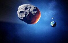 Pro Žemę praskriejo grėsmingas asteroidas