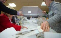 Užsidarė rinkimų apylinkės 68 vienmandatėse apygardose