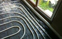 Skaitytojo patirtis: grindinio šildymo kontūrų vyniojimas