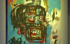 J. M.Basquiato paveikslas Niujorko aukcione nupirktas už rekordinę 110,5 mln. dolerių sumą