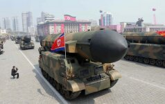 Lenktynės su laiku: ar Šiaurės Korėjos branduolinė grėsmė yra reali?