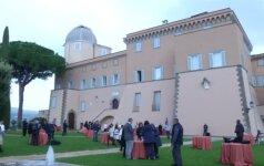 Popiežiaus vasaros rezidencija Italijoje atvėrė duris lankytojams