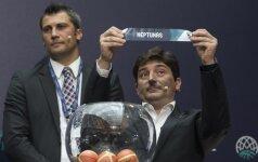 """Patenkinti burtais: """"Neptūnas"""" laukia čempionų, """"Juventus"""" tikisi proveržio rinkoje"""