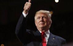 """B. Obama: D. Trumpo komentarai dėl NATO rodo """"pasiruošimo trūkumą"""""""