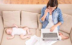 Kada po gimdymo geriausia grįžti į darbus: po metų ar dvejų?