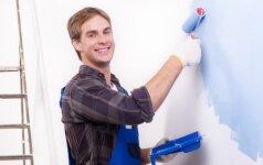 7 patarimai, padėsiantys pasiekti geresnių rezultatų dažant namus