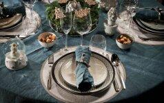 Žymios dizainerės patarimai, kaip lengvai papuošti šventinį stalą