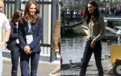 Rudeninis laisvalaikio stilius pagal Kate Middleton FOTO