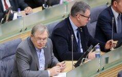Viktoras Rinkevičius (kairėje)