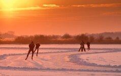 Vilniečiai kviečiami į nemokamas čiuožimo pamokas