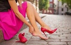 Paprastas būdas išvengti pūslių ant kojų