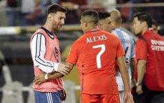 Ar Čilė sustabdys Argentiną su L. Messi priešakyje?