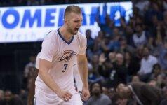 Žvėriškas dėjimas po D. Sabonio perdavimo – NBA TOP-10 viršūnėje