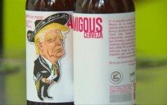 Meksikos ir JAV alaus gamintojai pasišaipė iš D. Trumpo