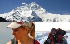 Everesto viršūnę pasiekė pirmoji lietuvė