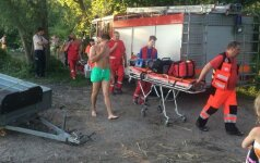 Kauno mariose susidūrė jachta ir kateris – jachta nuskendo