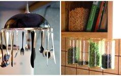 Pasidaryk pats: įdomūs ir praktiški virtuvės aksesuarai