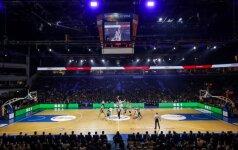 """LKL pusfinalio seriją """"Lietuvos rytas"""" žais """"Siemens"""" arenoje"""