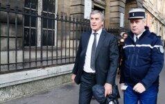 Buvęs Prancūzijos biudžeto ministras už mokesčių slėpimą siunčiamas už grotų