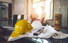 Kurių statinio statybos techninės veiklos vadovų pareigas gali atlikti patys statytojai?