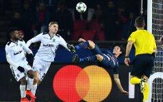 UEFA Čempionų lyga: E. Cavani įmušė per save, bet PSG – bulgarų antausis