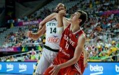 Nuostolis Turkijos rinktinėje: O. Ašikas nežais Europos čempionate